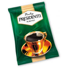 Kahvipapu PRESIDENTTI  tumma 1kg - Kahvit,teet ja kaakaot - 142416 - 1