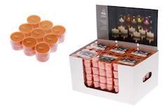 Polar lämpökynttilä 18 kpl  oranssi - Kynttilät, lyhdyt ja tarvikkeet - 143006 - 1