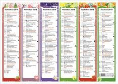 4 vuodenaikaa - Ajasto kalenterit - 152666 - 1