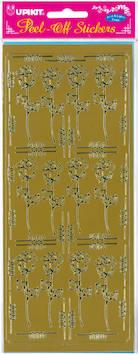Ääriviivatarra iso ruusu - Tarrat ja tarrakirjat - 136016 - 1