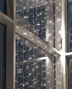 Valoverho 1,7x1,2m 160led AIRAM - Jouluun valot,koristeet,tekstiilit - 144336 - 1