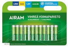 Paristo Airam LR3 AAA alkaline - Paristot - 139476 - 1