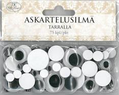 Askartelusilmätarra 75kpl/pkt - Tarrat ja tarrakirjat - 148666 - 1