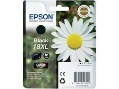 EPSON 18XL  mustesuihku - Epson mustesuihkuväripatruunat - 131316 - 1
