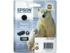 EPSON T2621 mustesuihku 26XL - Epson mustesuihkuväripatruunat - 137066 - 1