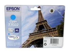 EPSON T7022 XL  mustesuihku - Epson mustesuihkuväripatruunat - 129116 - 1