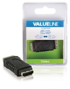 HDMI-tulo - HDMI- tulo Valueline - Kaapelit ja kaapelikourut, jatkojohdot - 146286 - 1