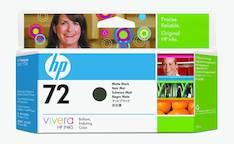 HP 72 C9403A mustesuihku - HP mustesuihkuväripatruunat - 122586 - 1