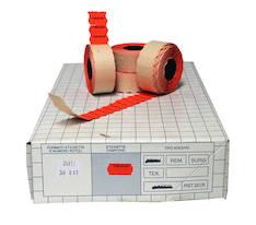 Hinnoittelukoneen etiketti BLITZ 26x12 - Hinnoittelukoneen nauhat ja väritelat - 107726 - 1