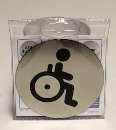 Infotaulu DURABLE WC liikuntarjoitteisil - Valko- ja ilmoitustaulut - 119756 - 1