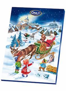 Joulukalenteri suklaa 75g - Makeiset - 149516 - 1