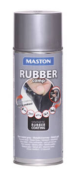 Kumimaalispray rubbercomp 400ml - Maalaustarvikkeet - 142966 - 1
