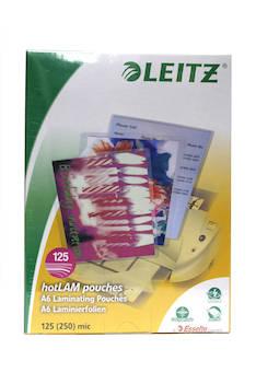 Laminointitasku A6 125mic LEITZ - Laminointitaskut - 104286 - 1