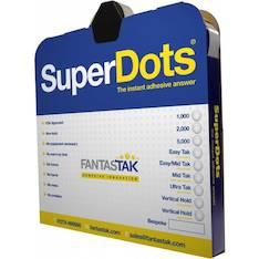 Liimapiste Superdots Easy Talk - Kaksipuoleiset teipit ja kiinnitystarrat - 134036 - 1