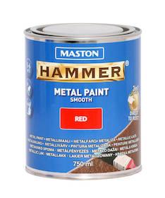 Maali hammer sileä 750ml - Maalaustarvikkeet - 136386 - 1