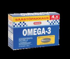 Omega 3 säästöpakkaus 3x45kapselia - Ravintolisät - 151146 - 1