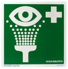 Opastekilpi silmänhuuhtelu CEDERROTH - Ensiaputuotteet CEDERROTH - 130486 - 1
