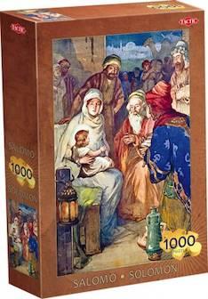 Palapeli Salomo  1000 palaa/48 x 68cm - Pelit Nelostuote - 123326 - 1