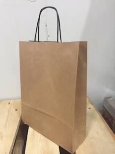 Paperikassi 16L 23x30/8cm - Paperikassit ja kauppa (paperi)pussit - 147016 - 1