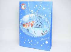 Paperikassi joulu Santa Claus - Lahjakassit ja -pussit - 120626 - 1