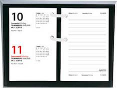 Pöytäpäivyrin alusta, ruskea - Ajasto kalenterit - 133166 - 1
