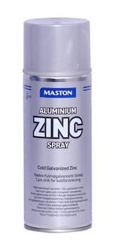 Spray vaalea sinkki (alumiini) 400ml - Maalaustarvikkeet - 136296 - 1