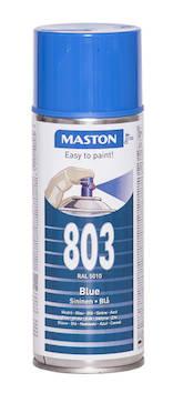 Spraymaali 100 400ml ral5010 - Maalaustarvikkeet - 136246 - 1