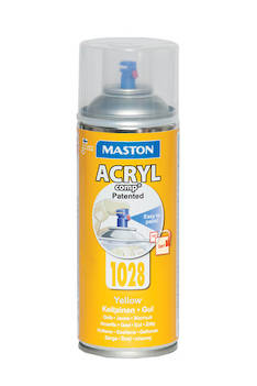 Spraymaali acrylcomp  ral1028 400ml - Maalaustarvikkeet - 136216 - 1