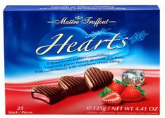 Suklaakonvehti Hearts 125g - Makeiset - 153346 - 1