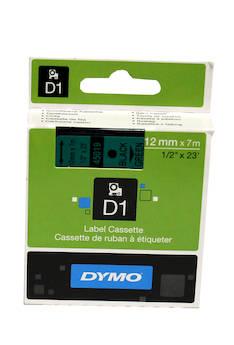 Tarranauha DYMO 12mmx7m 45019 - Tarra- ja kohokirjoitinteipit Dymo - 104066 - 1