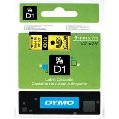 Tarranauha DYMO 6mmx7m 43618 - Tarra- ja kohokirjoitinteipit Dymo - 104056 - 1