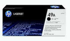 Värikasetti HP 49A Q5949A laser - HP laservärikasetit ja rummut - 113216 - 1