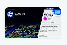 Värikasetti HP 504A CE253A laser - HP laservärikasetit ja rummut - 120686 - 1