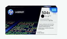 Värikasetti HP 504X CE250X laser - HP laservärikasetit ja rummut - 120256 - 1