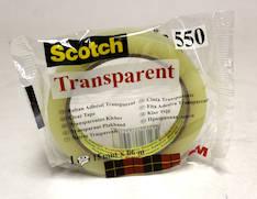 Yleisteippi SCOTCH 550 15mmx66m - Yleisteipit - 104536 - 1