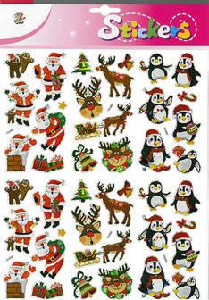 Jättitarra joulukuvat - Tarrat ja tarrakirjat - 153496 - 1