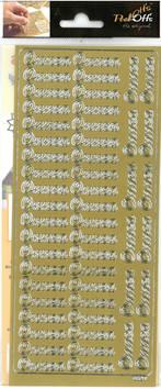 Ääriviivatarra onnea - Tarrat ja tarrakirjat - 135986 - 1