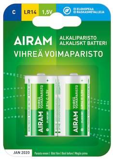 Paristo Airam LR14 C alkaline - Paristot - 139477 - 1