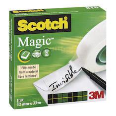 Asiakirjateippi SCOTCH 810 12mmx33m - Asiakirjateipit - 104547 - 1