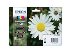 EPSON 18XL mustesuihku 4 väriä - Epson mustesuihkuväripatruunat - 130467 - 1