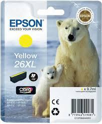 EPSON T2634 mustesuihku 26XL - Epson mustesuihkuväripatruunat - 137067 - 1