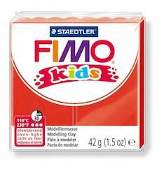 Fimo kids punainen - Askartelutarvikkeet - 140767 - 1