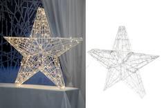 Finnlumor  somistetähti  90cm 160led - Jouluun valot,koristeet,tekstiilit - 143357 - 1