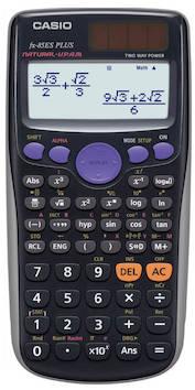 Funktiolaskin CASIO FX-85EX - Funktiolaskimet - 130277 - 1