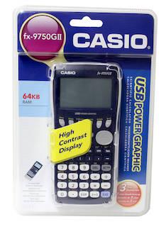 Funktiolaskin CASIO FX-9750GII - Funktiolaskimet - 128387 - 1