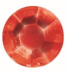 Gemstones tarra-arkki, 58 osaa, punainen - Askartelutarvikkeet - 137327 - 1