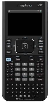 Grafiikkalaskin TEXAS Ti nspire CX CAS - Funktiolaskimet - 129727 - 1