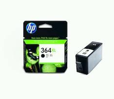 HP 364XL CN684EE  mustesuihku - HP mustesuihkuväripatruunat - 120087 - 1