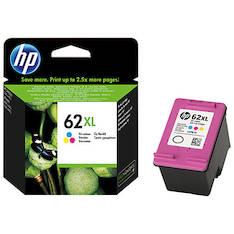 HP 62XL C2P07AE mustesuihku - HP mustesuihkuväripatruunat - 146007 - 1