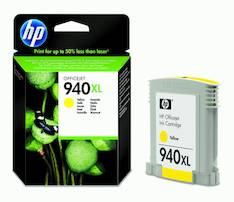 HP 940XL C4909AE mustesuihku - HP mustesuihkuväripatruunat - 120777 - 1